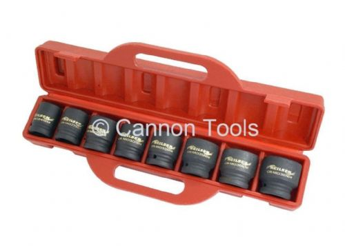 "8 Piece, 3/4"" Dr Impact Socket Set (Neilsen Ct1606) In Sturdy Storage Case"